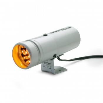 Auto Meter - Auto Meter Super-Lite Shift Light - 12 Led Shift-Lite (Silver)