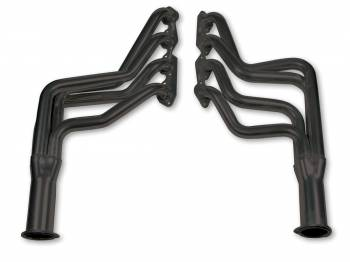"Flowtech - Flowtech Long Tube Headers - 1970-72 Camaro/1964-74 Chevelle/1971-74 Full Size - 396/454 - 1-3/4"" - 3"" Collector - Black Paint"