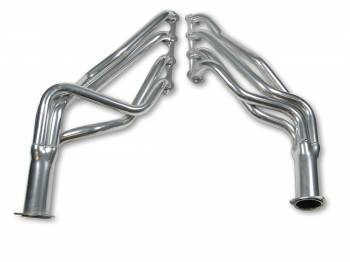 "Flowtech - Flowtech Long Tube Headers - 1969-73 Mustang/Cougar 351W/1971-73 Mustang/Cougar 260/302W - 1.5"" - 3"" Collector - Ceramic Coated"