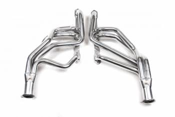 "Flowtech - Flowtech Long Tube Headers - 1970-74 Barracuda/Challenger/1968-74 Road Runner/Charger - 383/440 - 1.75"" -3"" Collector - Ceramic Coated"