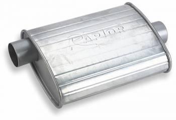 """Flowtech - Flowtech Raptor Turbo Performance Muffler - 2.5"""" Inlet/Outlet"""