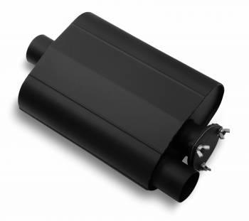 """Flowtech - Flowtech Warlock """"BYPASS"""" Series Racing Muffler - 2.5"""" Bypass Plate - 2.5"""" Inlet/Outlet"""