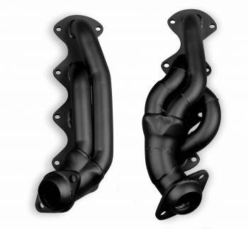 "Flowtech - Flowtech Shorty Headers - 2004-08 Ford F-150 5.4L - 1-5/8"" - 2-1/2"" Collector - Black Paint - CARB EO D-115-19"