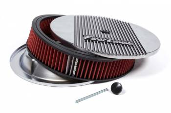 Edelbrock - Edelbrock Elite Series Aluminum Air Cleaner - Round