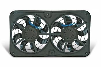 "Flex-A-Lite - Flex-A-Lite Reversible Dual 12-1/8"" X-Treme S-Blade Electric Fan w/ Variable Speed Controller"