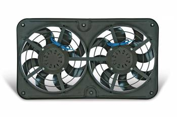 "Flex-A-Lite - Flex-A-Lite Reversible Dual 12-1/8"" X-Treme S-Blade Electric Fan"