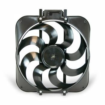 """Flex-A-Lite - Flex-A-Lite 15"""" Black Magic S-Blade Reversible Electric Fan"""
