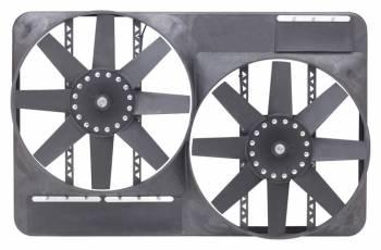"""Flex-A-Lite - Flex-A-Lite Dual 13-1/2"""" Electric Fan System w/ Full Shroud"""