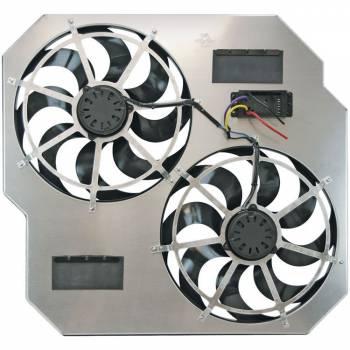 Flex-A-Lite - Flex-A-Lite Direct-fit dual electric fans - 2003-2009 Dodge Ram diesel
