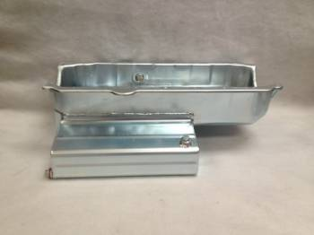 "Champ Pans - Champ Pans CP101LT Series Circle Track Oil Pan w/ Louvered Windage Tray - 9 Quart - 7"" Deep - SB Chevy 1957-85"