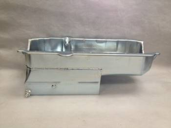 "Champ Pans - Champ Pans CP50LT Series Circle Track / Street/Strip Oil Pan w/ Louvered Windage Tray - 7 Quart - 7-3/4"" Deep - SB Chevy 1957-1979"