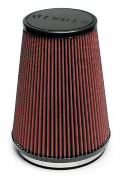 """Airaid - AIRAID Universal Air Filter - Conical - 6"""" Flange I.D. - 7.25"""" Base x 5"""" Top x 9"""" Height"""