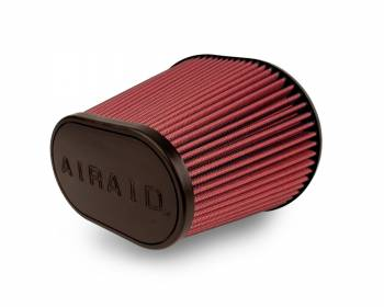 "Airaid - AIRAID Universal Air Filter - Oval Tapered - 6"" Flange I.D. - 10.75"" x 7.75"" Base x 7.25"" x 4.75"" Top x 9"" Height"