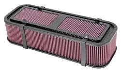 """K&N Filters - K&N Carbon Fiber Midget Air Box - 19"""" L x 7.5"""" W x 4-3/4"""" Tall"""