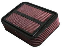 """K&N Filters - K&N Carbon Fiber Sprint Car Airbox Filter (Only) - 18-7/8"""" L x 13-3/4"""" W x 4-1/8"""" Tall"""