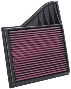 K&N Filters - K&N Replacement Air Filter - Ford Mustang 2010-14