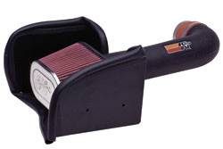K&N Filters - K&N 57 Series FIPK Air Intake System - Dodge Midsize Truck/SUV 2000-04