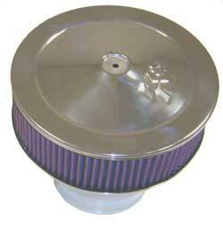 """K&N Filters - K&N Filters Velocity Stack Assembly - 9"""" x 8-1/4"""" - 5-1/8"""" Carb Flange"""