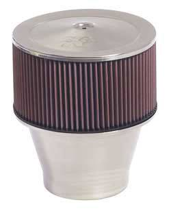 "K&N Filters - K&N Filters Velocity Stack Assembly - 9"" x 10"" - 5-1/8"" Carb Flange"