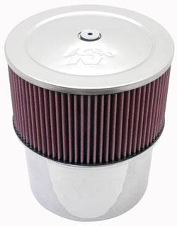 """K&N Filters - K&N Filters Velocity Stack Assembly - 9"""" x 10"""" - 7-5/16"""" Carb Flange"""