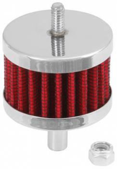 """K&N Filters - K&N Steel Base Fuel Cell, Rear End Breather Vent Filter - 3/8"""" Flange I.D."""