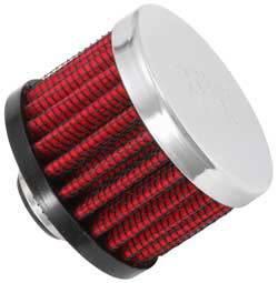 """K&N Filters - K&N Clamp-On Transmission, Rear End Breather Vent Filter - 3/8"""" Flange I.D."""