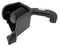 K&N Filters - K&N Blackhawk Induction Air Intake System - 2009-14 Dodge Ram 1500 5.7L