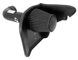 K&N Filters - K&N Blackhawk Induction Air Intake System - 2010-13 Chevy Camaro 6.2L