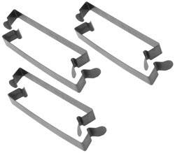 "K&N Filters - K&N Sprint Air Box Steel Spring Clip Clamps - 5.99"" x .75"" - Fits 6"" Tall Air Box (Set of 6)"
