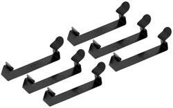 "K&N Filters - K&N Sprint Air Box Steel Spring Clip Clamps - 4.45"" x .75"" - Fits 4"" Tall Air Box (Set of 6)"