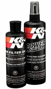 K&N Filters - K&N Recharger Filter Care Service Kit - 12 oz. Pump Spray Cleaner/8 oz. Squeeze Bottle Filter Oil