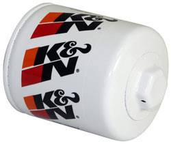 "K&N Filters - K&N Performance Gold Oil Filter - Canister - 3-3/4"" Tall - 13/16-16"" Thread - AMC/GM/Isuzu/Holden/Hummer/Jeep"