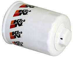 """K&N Filters - K&N Performance Gold Oil Filter - Canister - 3-3/4"""" Tall - 20 mm x 1.5 Thread - Various Applications"""