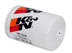 "K&N Filters - K&N Performance Gold Oil Filter - Canister - 5-23/32"" Tall - 1/8-16"" Thread - Universal"
