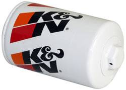 "K&N Filters - K&N Performance Gold Oil Filter - Canister - 5-3/32"" Tall - 18 mm x 1.5 Thread - AM General/GM/Holden/Isuzu"