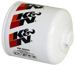 "K&N Filters - K&N Performance Gold Oil Filter - Canister - 4"" Tall - 3/4-16"" Thread - Various Applications"
