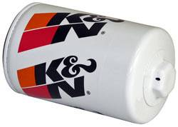 "K&N Filters - K&N Performance Gold Oil Filter - Canister - 5-1/16"" Tall - 3/4-16"" Thread - Various Applications"