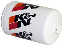 "K&N Filters - K&N Performance Gold Oil Filter - Canister - 5-23/32"" Tall - 13/16-16"" Thread - AM General/GM/Hummer"