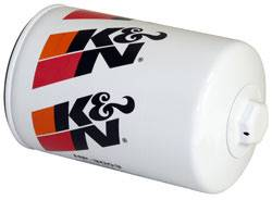 "K&N Filters - K&N Performance Gold Oil Filter - Canister - 5-7/8"" Tall - 13/16-16"" Thread - GM"