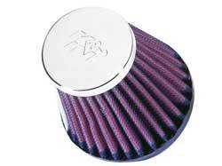 """K&N Filters - K&N Universal Air Filter - Conical - 3-1/8"""" Base - 2"""" Top - 3"""" Tall - 2"""" Flange"""
