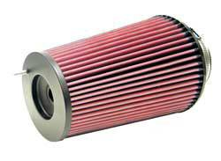 "K&N Filters - K&N Universal Air Filter - Conical - 6-5/8"" Base - 5-1/4"" Top - 9-1/2"" Tall - 4"" Flange"