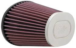 "K&N Filters - K&N Universal Air Filter - Oval 6-1/2 x 4-3/4"" - 5-5/8"" Tall - 2-15/16"" Flange"