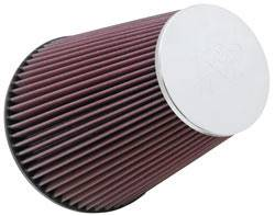"K&N Filters - K&N Universal Air Filter - Conical - 7-1/2"" Base - 4-1/2"" Top - 9"" Tall - 6"" Flange"