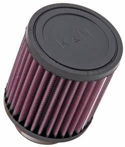 """K&N Filters - K&N Universal Air Filter - Round - 3-1/2"""" Diameter - 4"""" Tall - 2-1/8"""" Flange"""