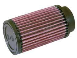 "K&N Filters - K&N Universal Fuel Injector Stack Air Filter - 2.50"" Inlet - 2-7/16"" Injector Bore I.D. - 3-1/2"" x 6"""