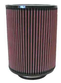 """K&N Filters - K&N Universal Air Filter - Round - 7"""" Diameter - 9"""" Tall - 4"""" Flange"""