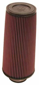 """K&N Filters - K&N Universal Air Filter - Conical - 6"""" Base - 4-5/8"""" Top - 12"""" Tall - 3"""" Flange"""