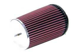 "K&N Filters - K&N Universal Air Filter - Conical - 5-3/8"" Base - 4-1/2"" Top - 7-1/2"" Tall - 4"" Flange"