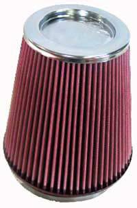 "K&N Filters - K&N Universal Air Filter - Conical - 7-1/2"" Base - 5"" Top - 8"" Tall - 6"" Flange"