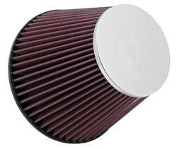 "K&N Filters - K&N Universal Air Filter - Conical - 7-1/2"" Base - 4-1/2"" Top - 6"" Tall - 6"" Flange"
